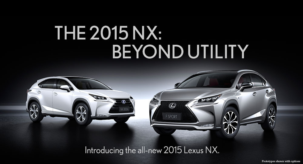 Lexus NX 200t and 300h