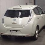 2012 Nissan Leaf rear