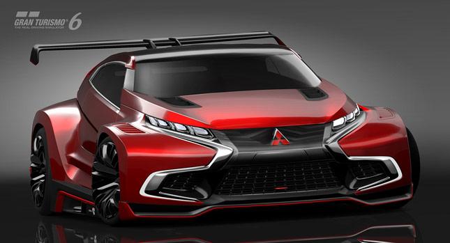 2014 Mitsubishi XR-PHEV Evolution Vision Concept