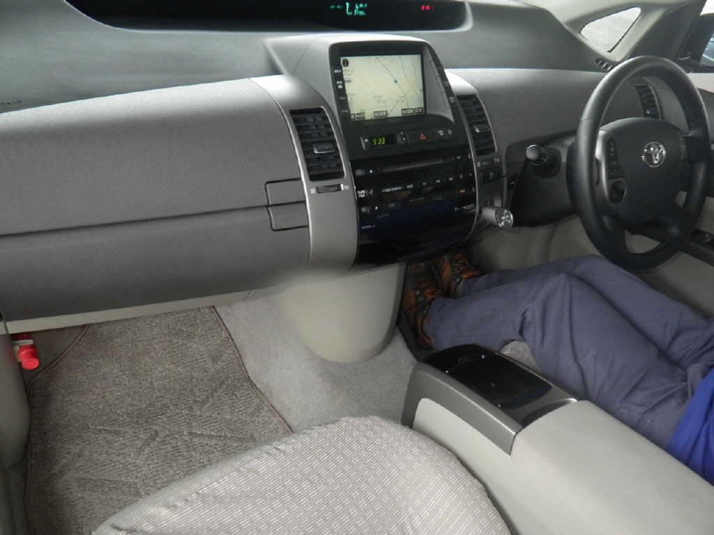 2008 Toyota Prius interior