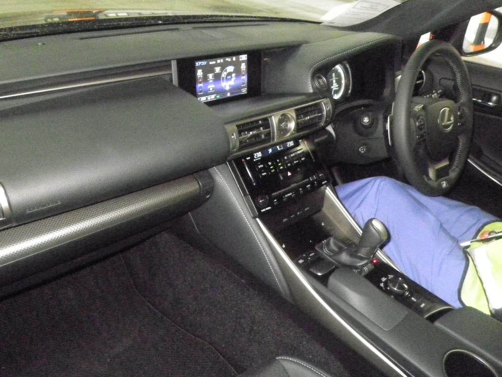 2013 Lexus IS 250 interior