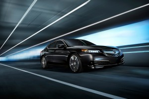 2015 Acura TLX driving