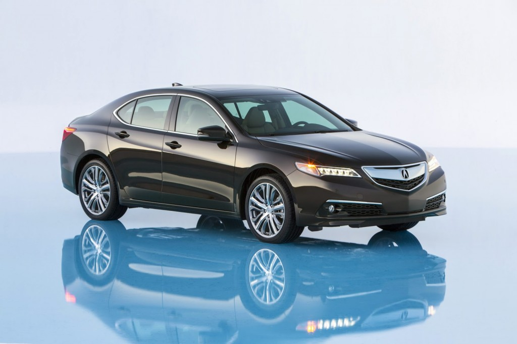 2015 Acura TLX exterior