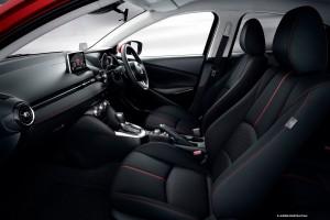 2015 Demio Mazda2 interior