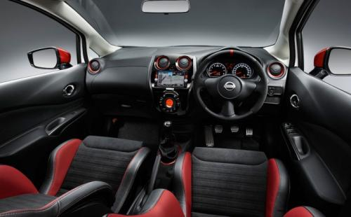 2015 Nissan Note NISMO Interior