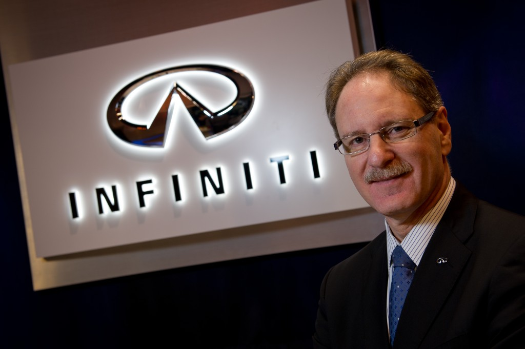 Former Infiniti boss Johan de Nysschen