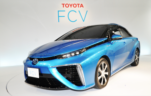 Japanese-spec Toyota FCV Production Model