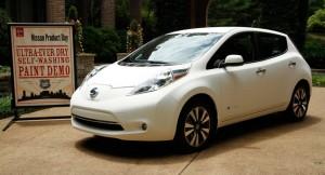 Self-Cleaning Nissan Leaf