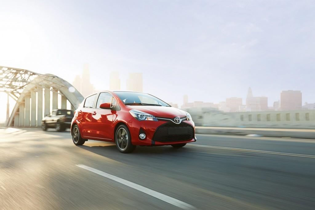 US 2015 Toyota Yaris