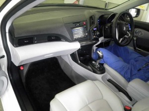 2010 Honda CR-Z interior