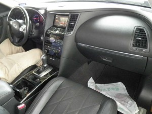 2010 Infiniti FX35 interior