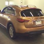 2010 Infiniti FX35 rear