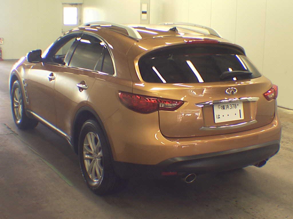 2010 infiniti fx35 color options