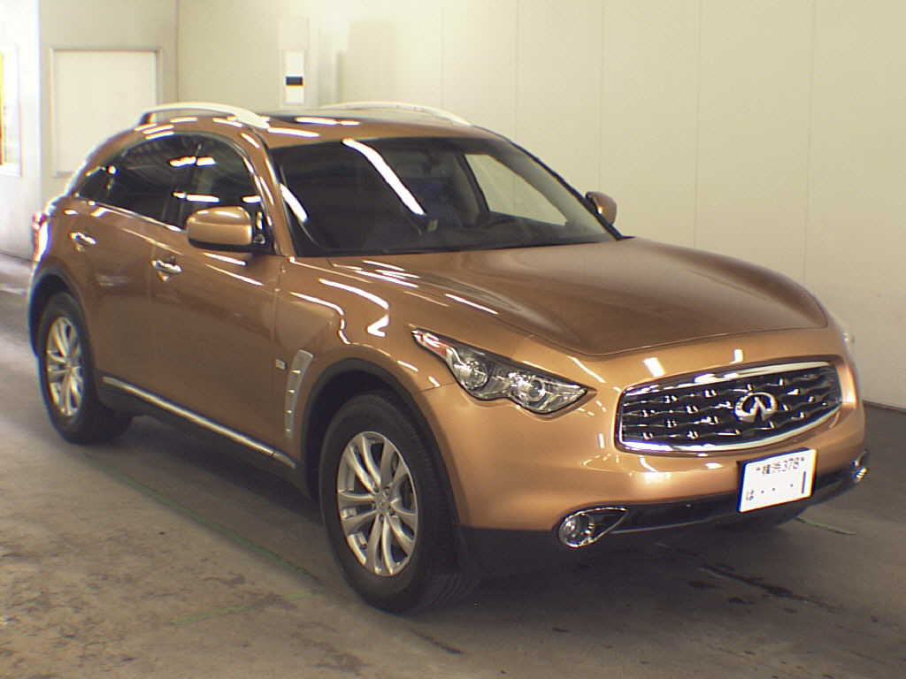 Japanese Car Auction Find 2010 Infiniti Fx35 For Sale