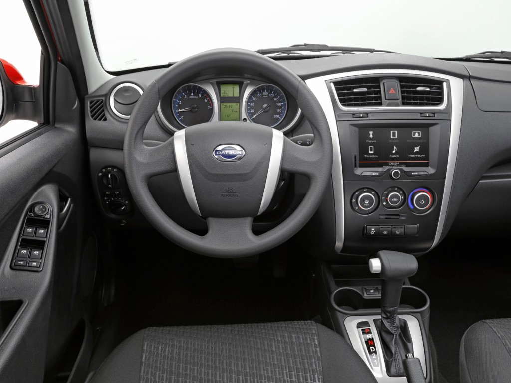2015 Datsun mi-DO interior