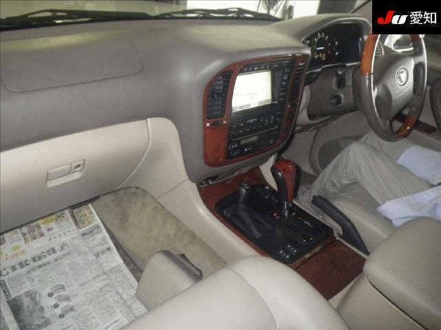 2002 50th Anniversary Land Cruiser interior