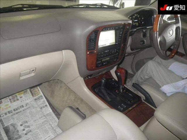 2002 50th Anniversary Land Cruiser interior