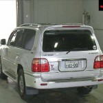 2002 50th Anniversary Land Cruiser rear