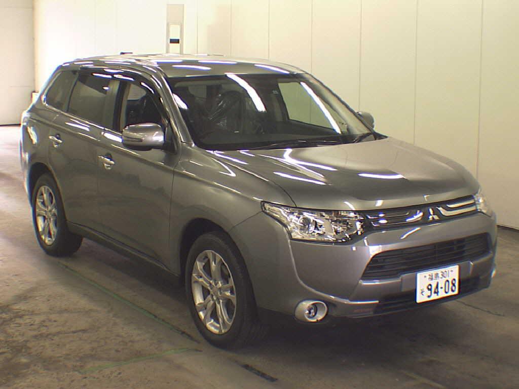 2013 Mitsubishi Outlander front