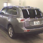 2013 Mitsubishi Outlander rear