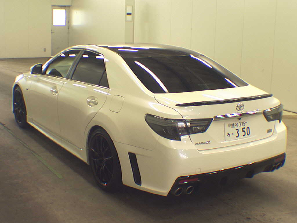 2013 Toyota Mark X 350S GS rear