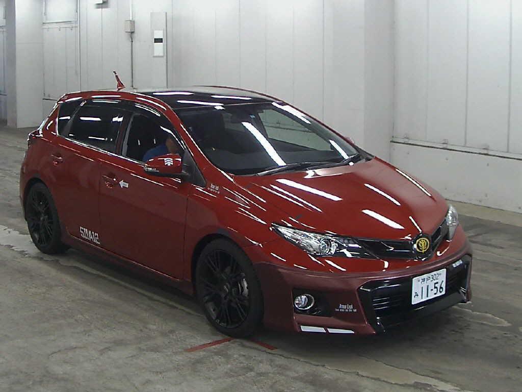 2014 Toyota Auris 180GS Char Aznable Edition
