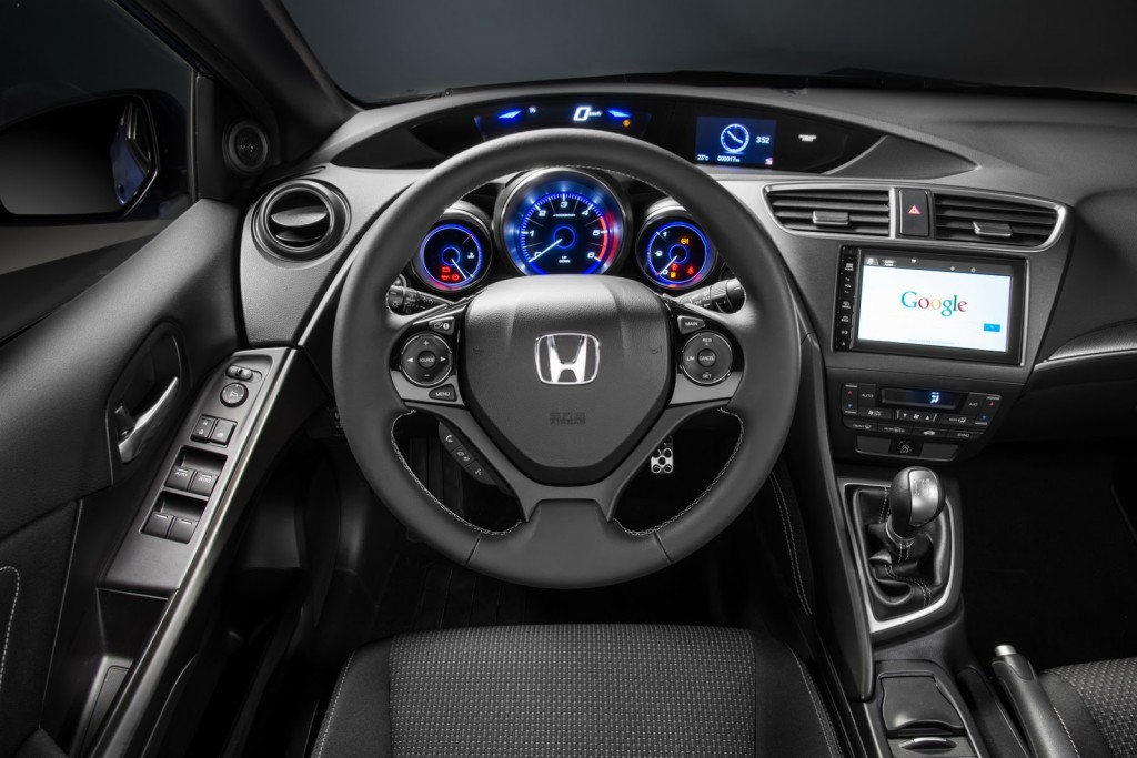 2015 Honda Civic Sport interior