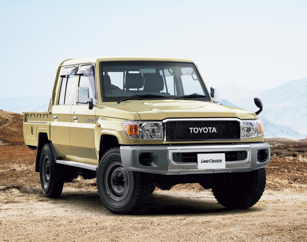 2015 Series 70 Land Cruiser Pickup