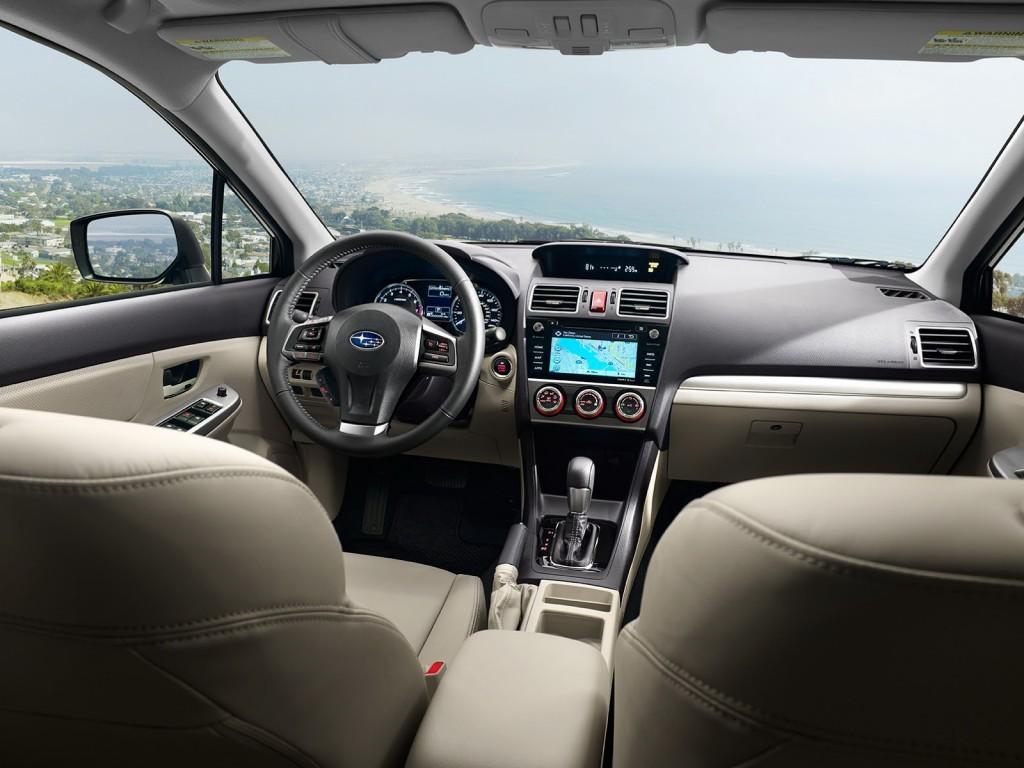 2015 Subaru Impreza interior