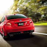 2015 Subaru WRX S4 rear