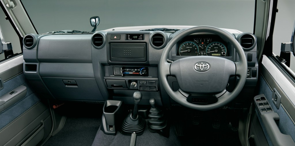 2015 Toyota Land Cruiser 70 Interior