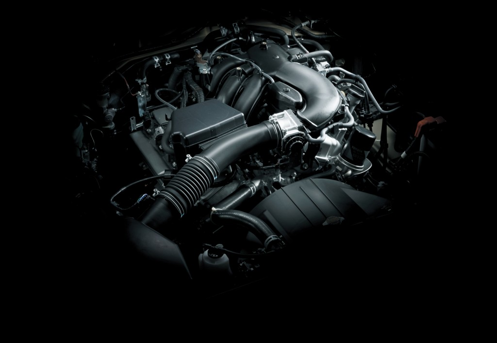 2015 Toyota Land Cruiser 70 powertrain