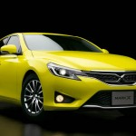 2015 Toyota Mark X Yellow Label