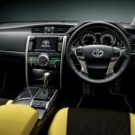 2015 Toyota Mark X Yellow Label interior