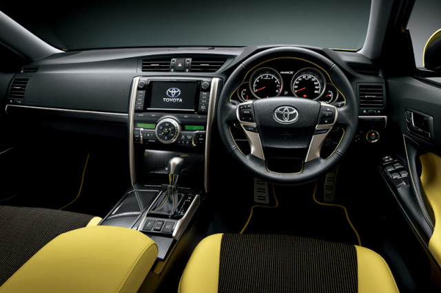 2015 Toyota Mark X Yellow Label interior