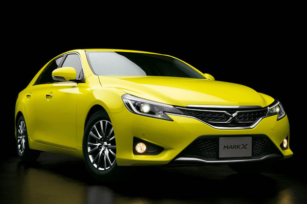 2015 Toyota Mark X Yellow Label