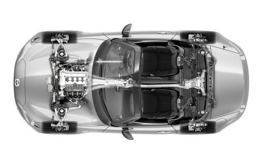 2016 Mazda MX-5 Miata Cutaway