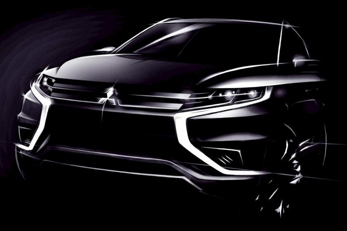 Mitsubishi Concept S Teaser