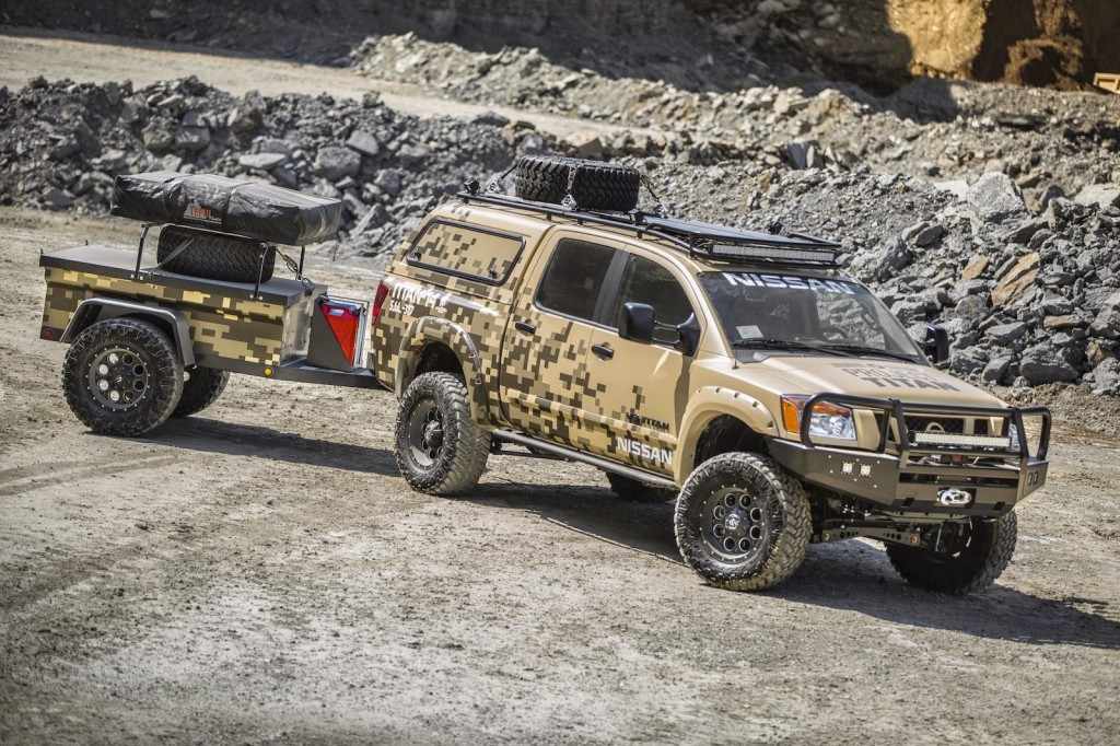 Nissan Project Titan Pickup