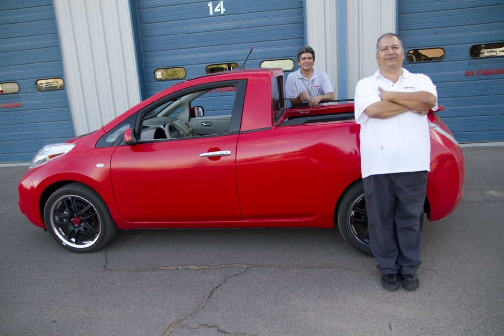 Nissan Sparky with Reliability Group engineers