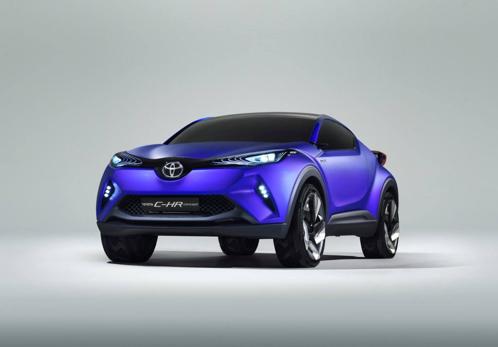 Toyota C-HR Concept Preview