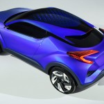 Toyota C-HR Concept Preview rear above