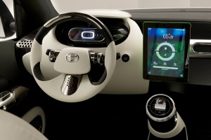 Toyota Urban Utility Concept front dash
