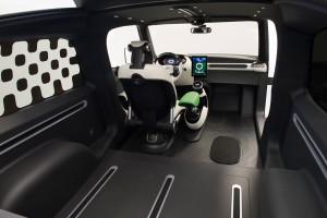 Toyota Urban Utility Concept interior rails