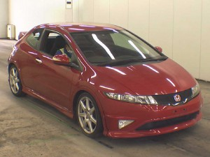 2009 Honda Civic Type-R Euro front
