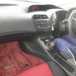 2009 Honda Civic Type-R Euro interior