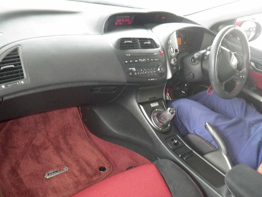 2009 Honda Civic Type-R  Euro interior