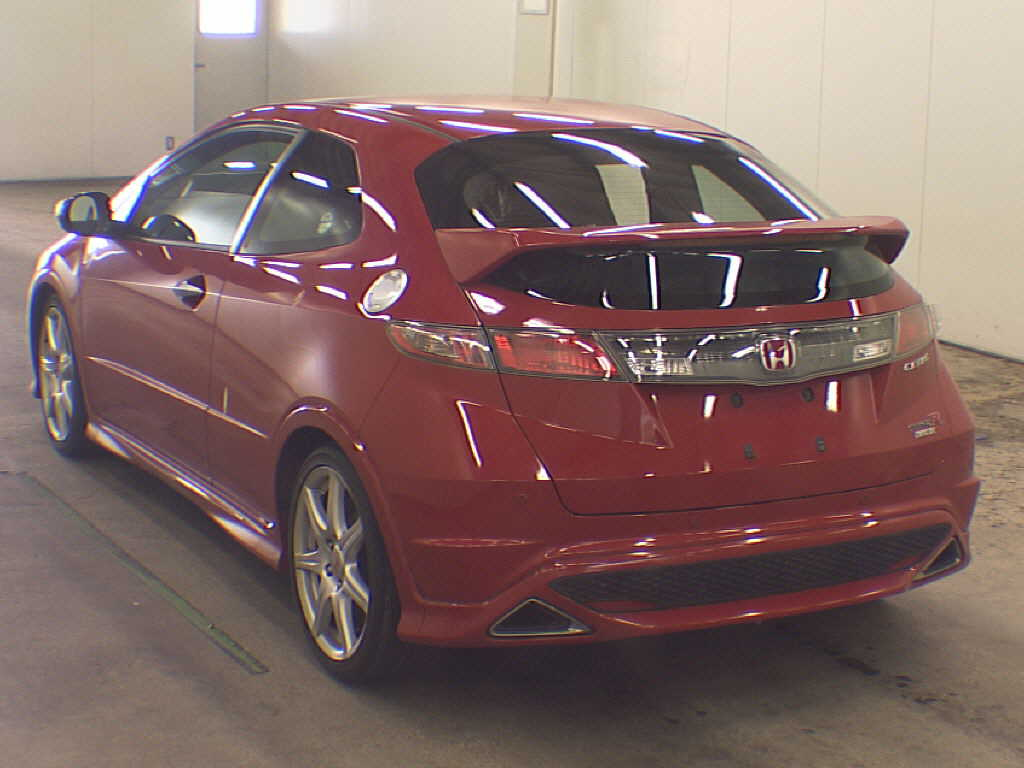 2009 Honda Civic Type-R  Euro rear