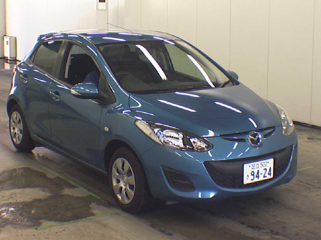 2012 Mazda Demio 13-SKYACTIV front