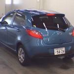 2012 Mazda Demio 13-SKYACTIV rear